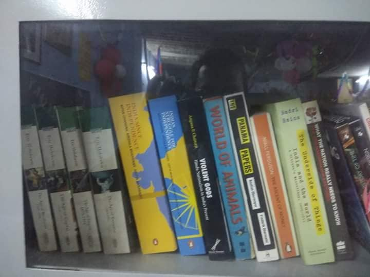 Books available at Library of Ambedkar Community Computing Center (AC3)