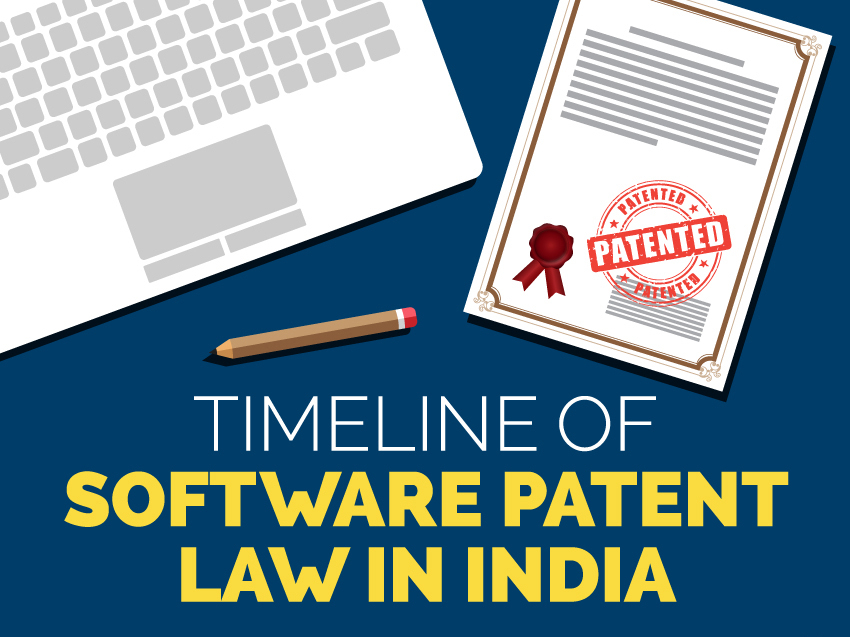 Timeline of Software Patent Law in India