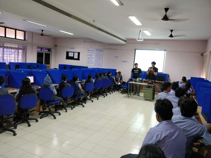Photo of workshop at ASIET