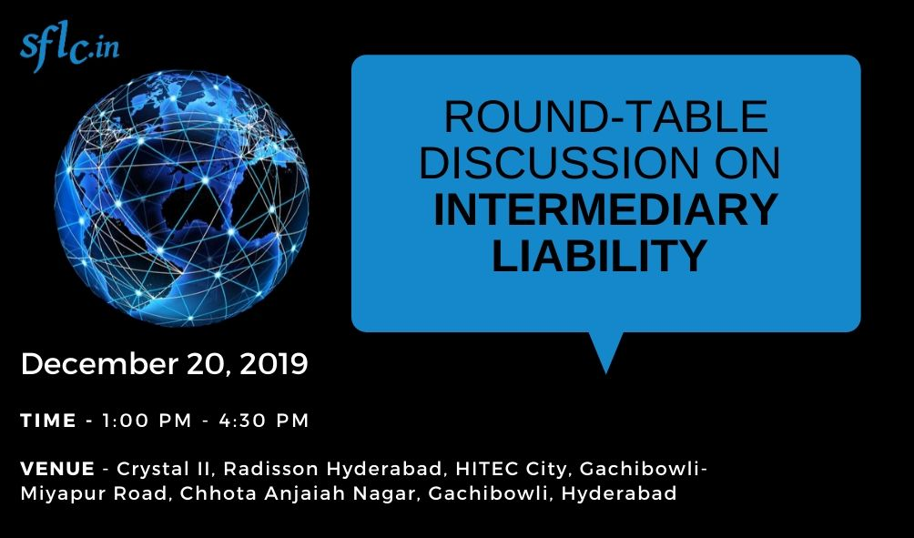 Round-Table Discussion on Intermediary Liability 2019